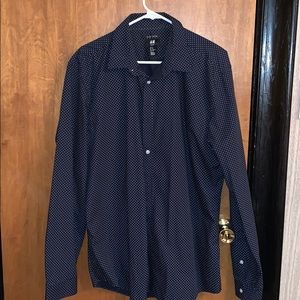 H&M Slim Fit Button Down Shirt (Lightly Used)
